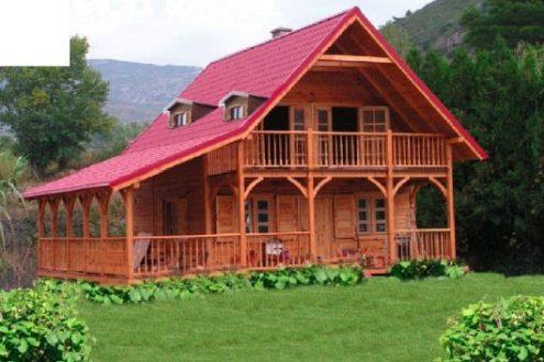 Ofertas de casas de madera techwood house tenerife - Casas de madera alcorcon ...