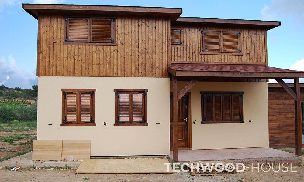 Fotos de obras realizadas techwood house tenerife - Casa prefabricadas tenerife ...